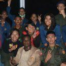 Resimen Mahasiswa Yon 041 UR Sebagai Pendamping pada Pembekalan Mahasiswa KKN Kebangsaan di Yonif 132/BS